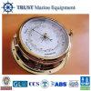 Barómetro aneróide de bronze Desktop marinho da embarcação náutica do barómetro
