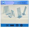 Couleur et taille adaptées aux besoins du client par fournisseur acrylique des prix de qualité d'affichage d'armature meilleur