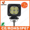 Rechthoekige 12W LED Work Light, Flood/Spotlight, High Brightness 12W LED Work Lamp