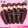 Weave 100% brasileiro do cabelo humano de Remy do cabelo do Virgin da onda frouxa