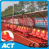 Futebol Seating Team Shelters/esconderijos subterrâneos com Steel Angle Understructure