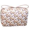 Cosmetic Bag de Polyester Fashion Girl mignon avec Double Pullers