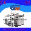 machines à grande vitesse de presse de transfert thermique de roulis