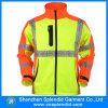 Da segurança elevada do Workwear da visibilidade dos homens do inverno revestimentos reflexivos para a motocicleta