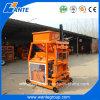 Máquina de fatura de tijolo da argila da pequena escala do motor diesel