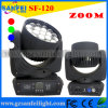 19PCS diodo emissor de luz Moving Head Zoom Beam Light (SF-120)