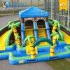 Città gonfiabile di divertimento del campo da giuoco del Bouncer gonfiabile gonfiabile del parco di divertimenti