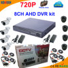 8 Kanal Ahd DVR Kit mit 720 Camera