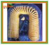 30m 100ft Coil Hose с 7 Function Spray Head ЕВА Coiled Spiral Pipe