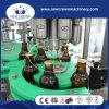 2000bph limpam duas vezes 3 em 1 máquina de enchimento da cerveja para o frasco de vidro