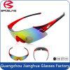 Frameless enveloppant multifonctionnel folâtre des lunettes de soleil du base-ball de courge de tennis de lunetterie