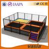 Mini-Trampoline 2015 interno do parque do divertimento das crianças de Vasia
