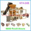 機械、機械を作るCabroを作るQt4-24bの半自動コンクリートブロック