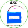 カメラのためのEXW18650 11.1V 2200mAhのリチウム電池シリーズ