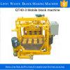 Qt40-3Aの小さい移動式煉瓦作成機械