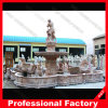 정원 Decoration를 위한 손 Carved Antique Marble Stone Carving Water Fountain