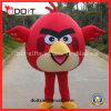 Traje feito-à-medida vermelho da mascote do caráter