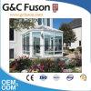 De luxe maakte het Geïsoleerdeg Huis van het Glas/Groen Huis Sunroom/de Houten Zaal van de Zon van het Aluminium van de Kleur aan