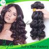 Cabelo humano longo de Wefted da extensão ultramarina por atacado do cabelo