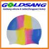 Casquillos de natación multicolores durables del silicón