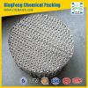 Embalagem estruturada corrugada do metal placa perfurada