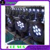 LED 이동하는 맨 위 빛을 바꾸는 7X12W 광속 색깔