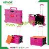 Пакет пластичной коробки и тележка вагонетки крена n складывая