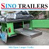 Напольная перемещая складчатость трейлера туриста бортовая