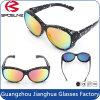 Misura polarizzata multicolore sopra gli occhiali da sole di prescrizione che determinano gli sport esterni di pesca