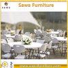 円形または長方形のプラスチックHDPEの折りたたみ式テーブルの家具の販売