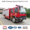 de Vrachtwagen Euro4 van de Tanker van het Schuim 6tons Dongfeng