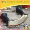 Het in het groot Mes van het Roestvrij staal van het Mes sneed de Vanille van de Ui (RYST0222C)