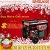 6kw Generator van de Benzine van Afrika de Populaire