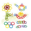 Juguete geométrico creativo de la hebilla del bloque hueco de los niños