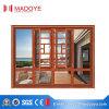 Madoye Puder-überzogenes Aluminiumflügelfenster-Fenster mit örtlich festgelegtem Glas