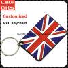 卸売が付いている熱い販売法の習慣PVC Keychain