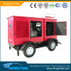4 치기 엔진 힘 전기 디젤 엔진 생성 트레일러 이동할 수 있는 휴대용 발전기