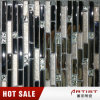 低価格のスライバカラーガラスモザイク、金属メッキのガラスモザイク