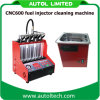 Het Testen van het Systeem van de brandstofinjectie Machine cnc-600 Geavanceerde Elektromechanische Schoonmakende Machine cnc-600 van de Brandstofinjector