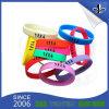 Wristband силикона фабрики изготовленный на заказ цветастый для деталей промотирования