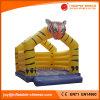 Tiger-Thema-aufblasbarer Schlag-Haus-Prahler für Verkauf T (1-016)