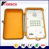 As mãos livram o telefone robusto Knsp-13 do telefone impermeável industrial do telefone