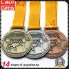 Изготовленный на заказ медаль пожалования поднятия тяжестей металла высокого качества