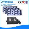 El panel al aire libre blanco del precio de la gasolina de la pulgada LED de Hidly 12