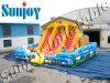 Diapositiva inflable N Boucer, parque de atracciones, gorila de la granja de Inflable