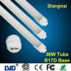 Hoge Lumen Efficiency 2.4m 36W T8 R17D LED Tube Light Cool White