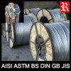 Filo galvanizzato all'ingrosso del filo di acciaio della Cina (BACCANO GB BS AISI JIS)