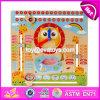 Il calendario di legno educativo di avvenimento dei bambini dei nuovi prodotti gioca W09f002