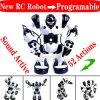 Игрушка робота дистанционного управления RC варианта Roboacotr 2, действия Humanoid ультракрасного управления Programmable Robot+Sound Active+52 (RY-420)