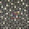 Negro y Navyblue Glass Mosaic (CFC141M)